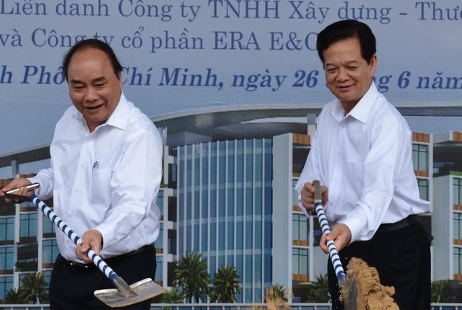Khoi cong co so 2 benh vien Ung buou 1.000 giuong hinh anh