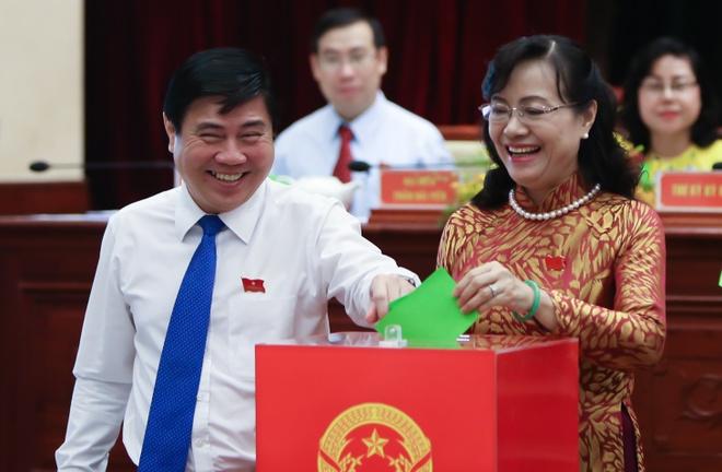 Ba Nguyen Thi Quyet Tam tai dac cu Chu tich HDND TP HCM hinh anh