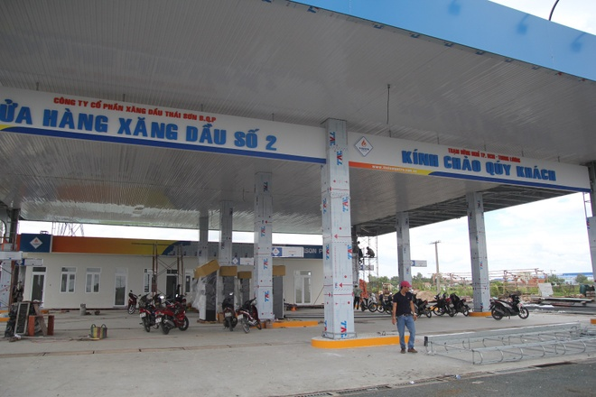 Xay tram dung nghi tren cao toc TP.HCM - Trung Luong hinh anh