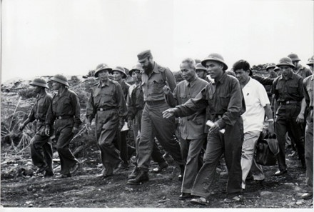 Lanh tu Fidel trong chuyen tham Viet Nam anh 2