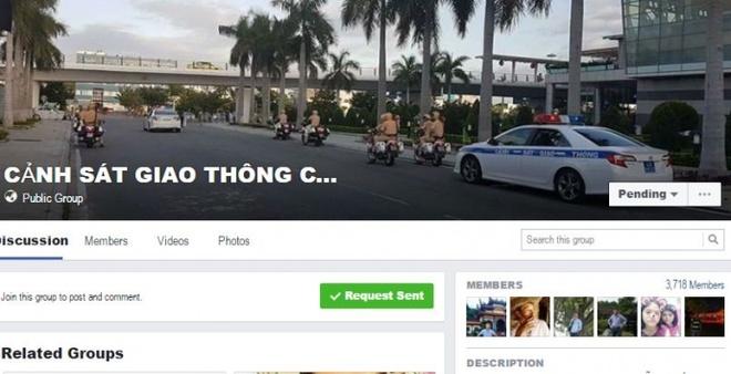 facebook CSGT Da Nang anh 1
