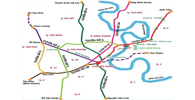 Hon 62.000 ty dong xay tuyen metro Ben Thanh - Tan Kien hinh anh 1