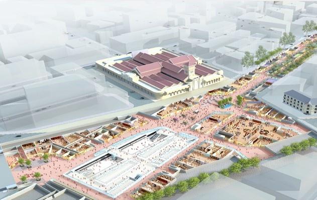 В Хошимине построят подземный торговый комплекс площадью 45 тысяч кв.м
