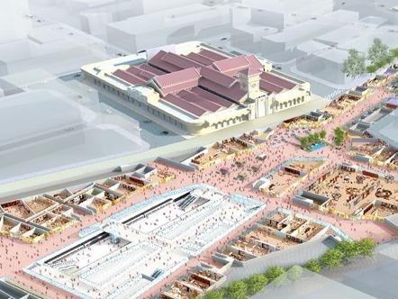 Sai Gon se co trung tam thuong mai 45.000 m2 duoi long dat hinh anh