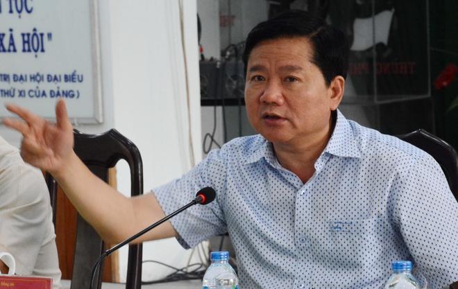 Bi thu Thang lam viec voi quan 9 anh 1