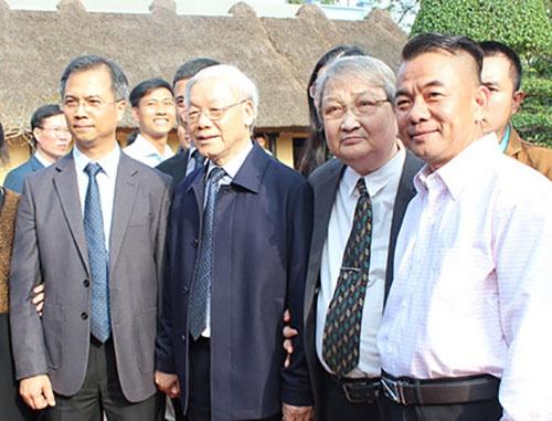 Tong Bi thu Nguyen Phu Trong tham, lam viec tai Nam Dinh hinh anh