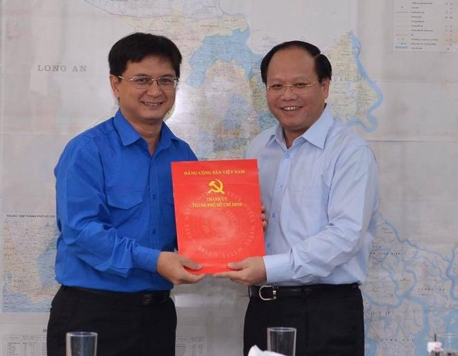 Bi thu Thanh doan Nguyen Manh Cuong lam Bi thu quan Thu Duc hinh anh