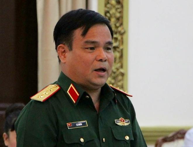 Thuong tuong Le Chiem: Quan doi co chu truong khong lam kinh te nua hinh anh 1