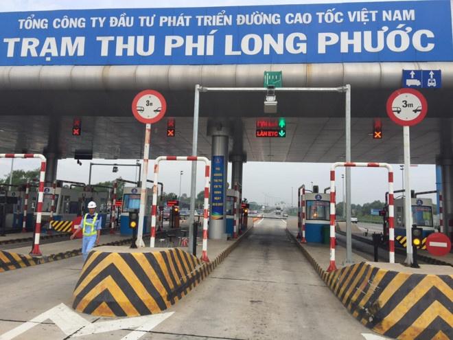 Thu phi tu dong tren cao toc TP.HCM - Long Thanh - Dau Giay hinh anh