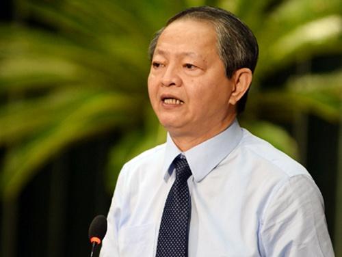 Ong Le Van Khoa xin thoi chuc Pho chu tich UBND TP.HCM hinh anh