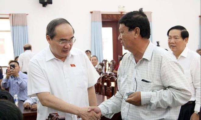 Sau hop Quoc hoi, Bi thu Nguyen Thien Nhan se gap nguoi dan Thu Thiem hinh anh