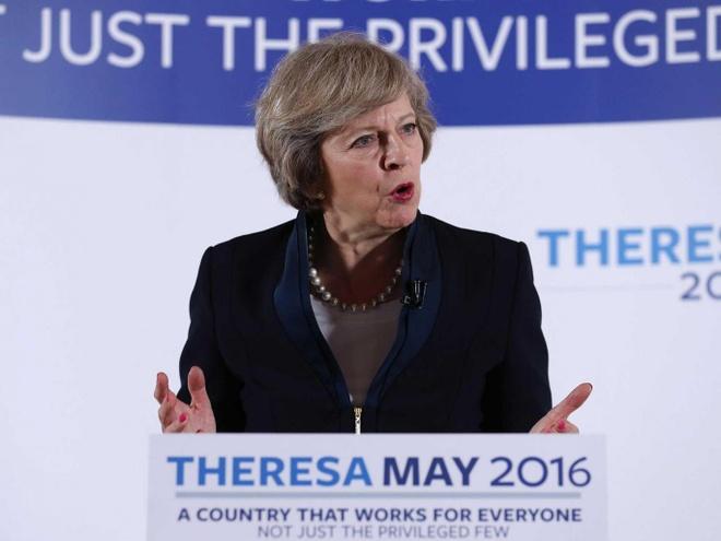 Theresa May tro thanh nu thu tuong thu 2 cua nuoc Anh hinh anh