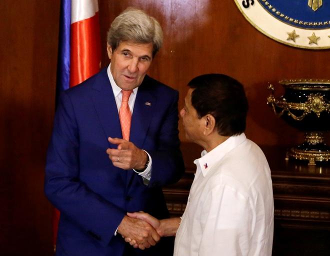 """Ngoai truong Kerry: My muon tranh """"doi dau"""" o bien Dong hinh anh"""