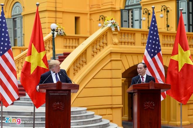 Tong thong Trump: Viet - My gan ket nhau vi muc tieu va loi ich chung hinh anh 2