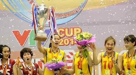Danh bai Thai Lan, tuyen nu Viet Nam vo dich VTV Cup hinh anh