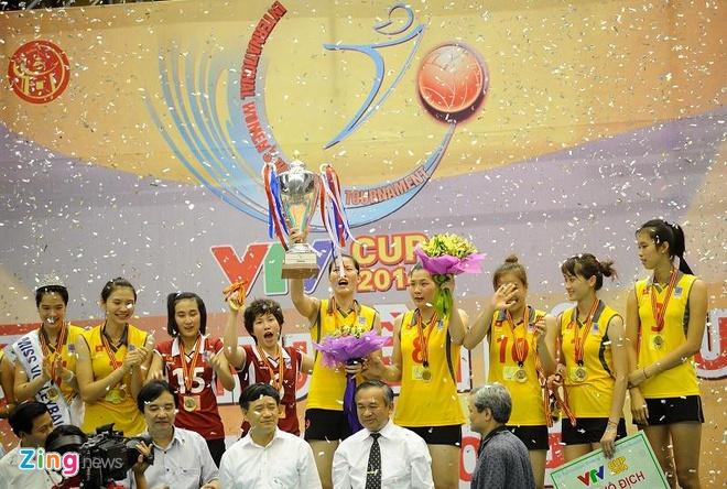 Danh bai Thai Lan, tuyen nu Viet Nam vo dich VTV Cup hinh anh 12