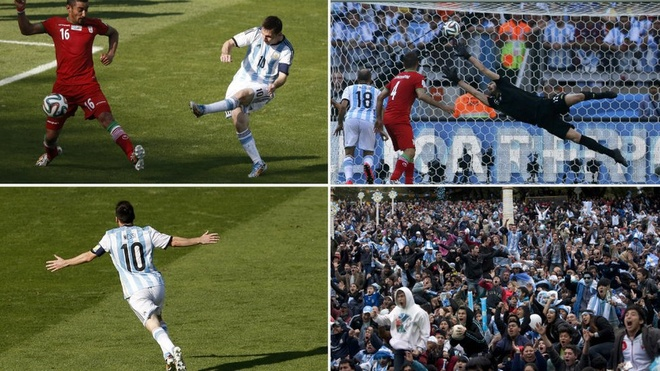 >Timely. Iran's resilient display against Argentina comes within seconds of earning a point before Lionel Messi serves up group-stage drama with a stunning curled effort to spark chaos in Buenos Aires