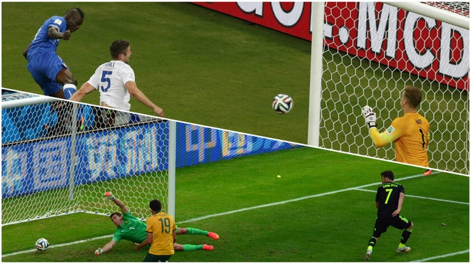 Spain's forward David Villa scores against Australia's goalkeeper Mathew Ryan during a Group B football match between Australia and Spain at the Baixada Arena in Curitiba. Goals. Lots of them. A total of 136 are scored in the group stages, six more than the previous record set at the 2002 World Cup
