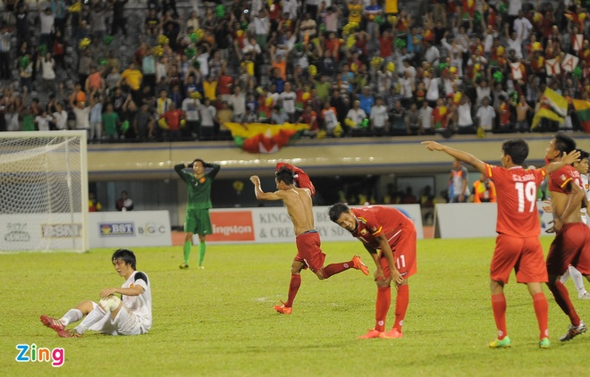Cau thu U19 VN khoc nuc no sau tran thua Myanmar hinh anh 1