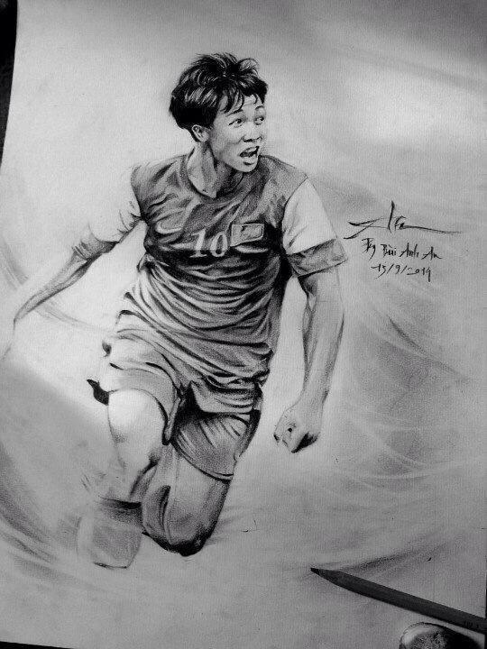Fan nu thuc thau dem ve tranh tang U19 Viet Nam hinh anh 4 Anh: Bùi Anh An