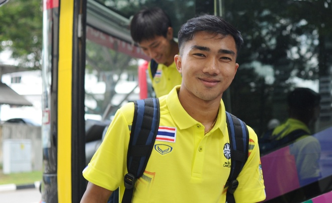 U23 Thai Lan co mat tai Singapore de bao ve HCV SEA Games hinh anh
