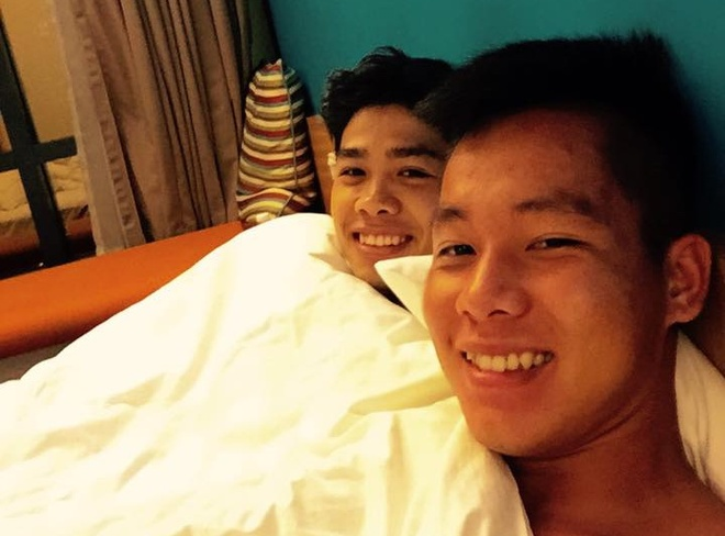 Cau thu U23 Viet Nam mat ngu sau tran thang Malaysia hinh anh