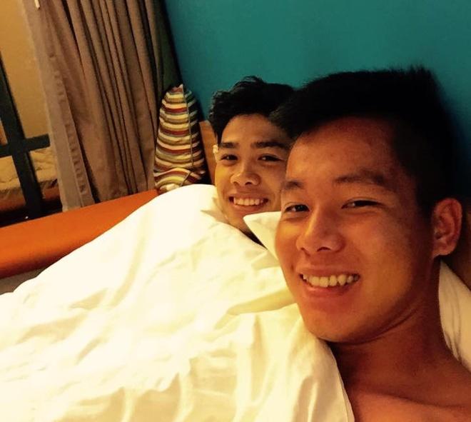 Cau thu U23 Viet Nam mat ngu sau tran thang Malaysia hinh anh 1