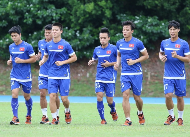 U23 VN tap nhe, quyet thang Indonesia vi danh du To quoc hinh anh