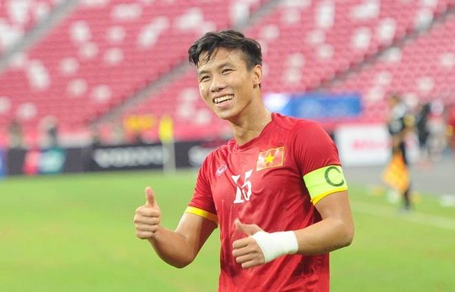 Doi truong U23 VN tin lua Cong Phuong vo dich SEA Games 2017 hinh anh