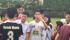 Cong Phuong duoc fan vay kin khi ve Hai Phong tap cung HAGL hinh anh