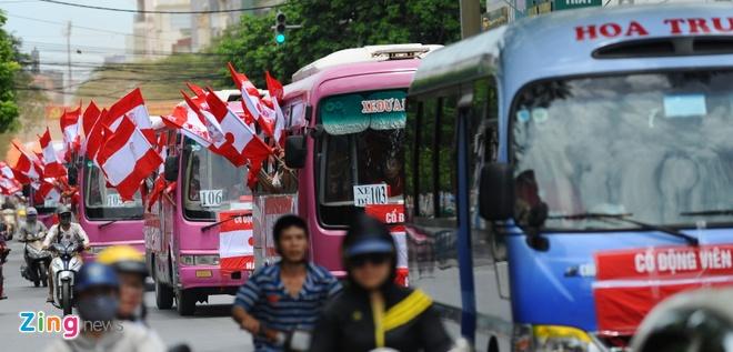 CDV Hai Phong dot phao khoi chan xe o tram thu phi Tuan Chau hinh anh 6