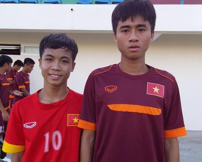 Ban sao cua Cong Phuong xuat hien tren san tap U19 Viet Nam hinh anh