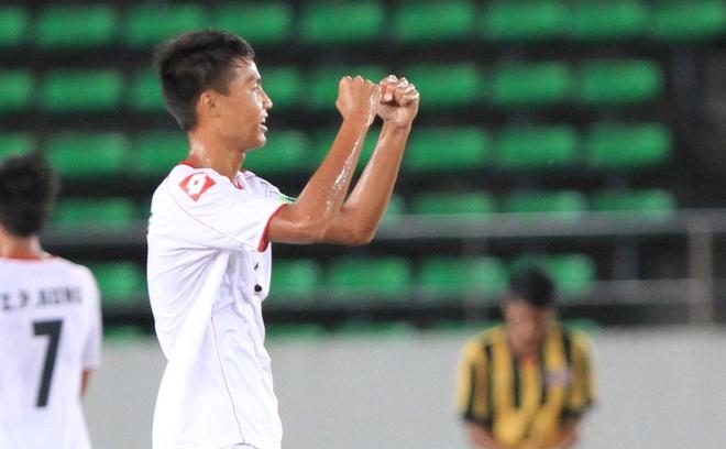 Da phong ngu, U19 Myanmar thang sat nut U19 Malaysia hinh anh