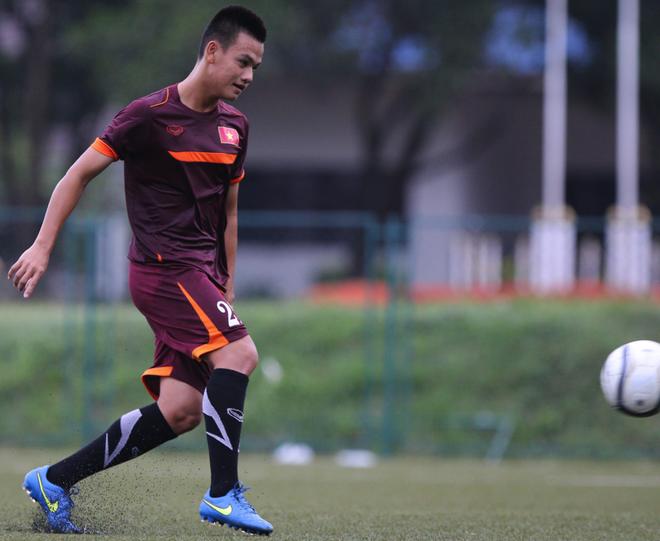 U19 Viet Nam tap sut luan luu truoc tran gap U19 Myanmar hinh anh