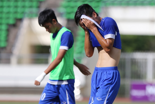 Kich ban U19 Viet Nam bi loai o giai U19 Dong Nam A hinh anh