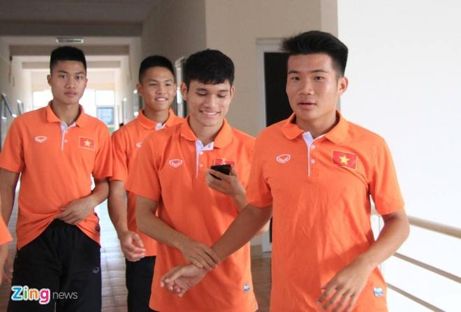 U19 Viet Nam hoi quan tai Ha Noi truoc giai chau A hinh anh 1