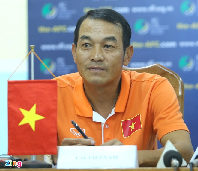HLV truong trach U16 VN thieu quyet tam o tran thang Myanmar hinh anh 1