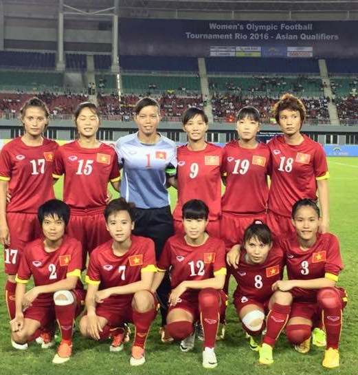 Tuyen nu Viet Nam thang Myanmar 4-2 o Vong loai Olympic hinh anh 1