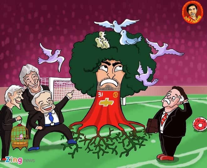 Hi hoa: Rooney la cai bong cua than rua truoc tran Arsenal hinh anh 4