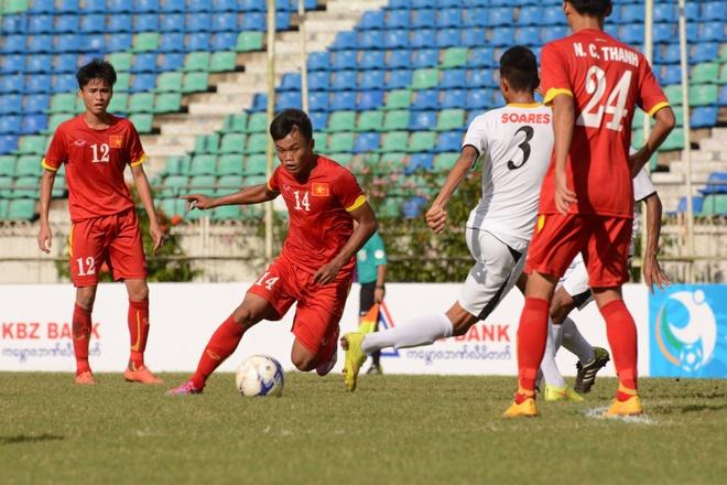 U19 VN thi dau no luc duoi thoi tiet nang nong o Myanmar hinh anh 3