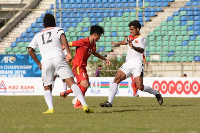 U19 VN thi dau no luc duoi thoi tiet nang nong o Myanmar hinh anh 4