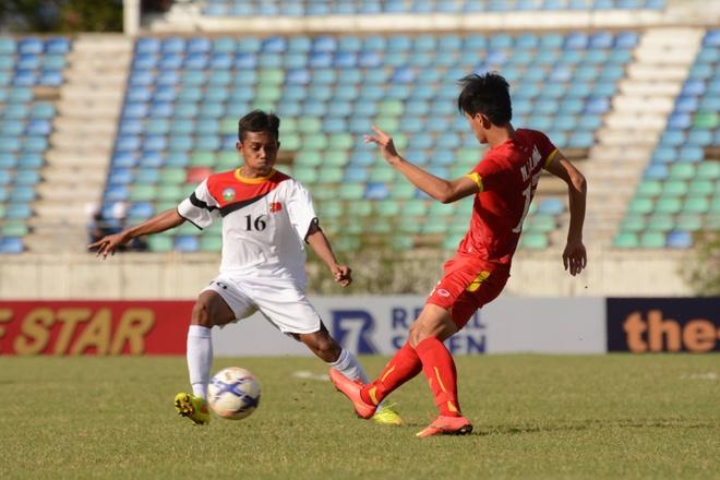 U19 VN thi dau no luc duoi thoi tiet nang nong o Myanmar hinh anh 5