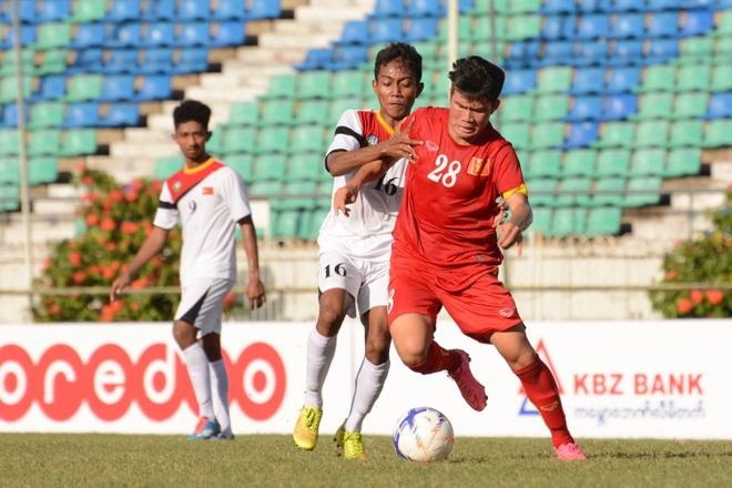 U19 VN thi dau no luc duoi thoi tiet nang nong o Myanmar hinh anh 6