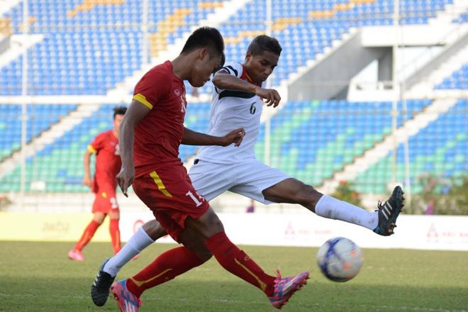 U19 VN thi dau no luc duoi thoi tiet nang nong o Myanmar hinh anh 7