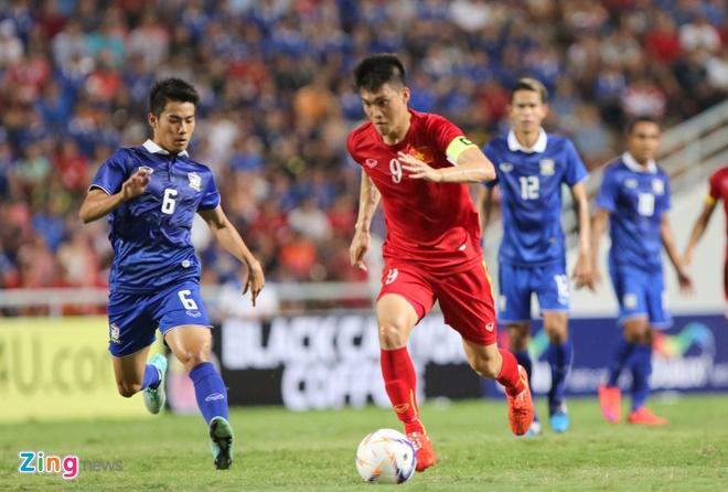 Viet Nam tang 2 bac tren BXH FIFA du thua Thai Lan hinh anh 1