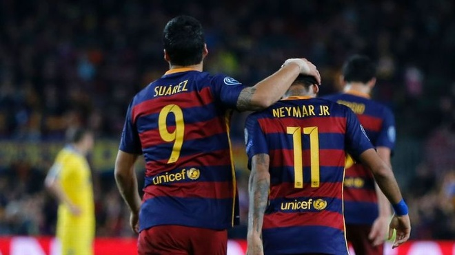 Khi Real Madrid phai hoc Barcelona khai niem 'doi tac' hinh anh 3 Không hề có sự ích kỷ trong lối chơi giữa Neymar và Suarez.