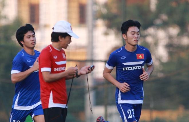 Xuan Truong tap buoi dau tien, 7 cau thu U23 VN chan thuong hinh anh