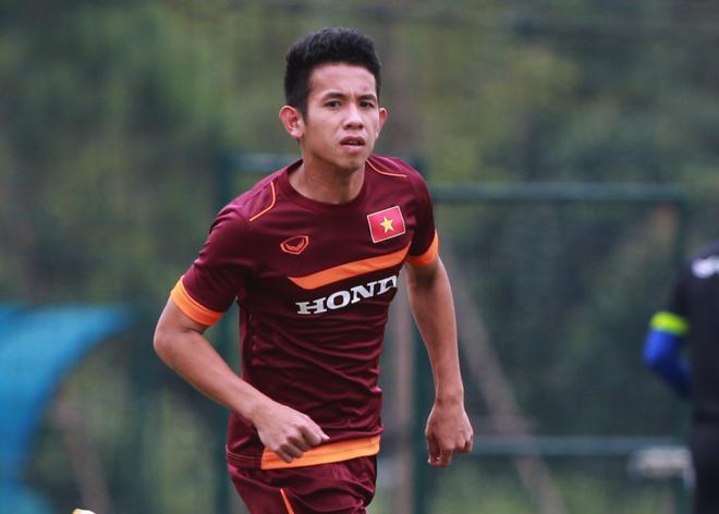 Hong Duy tro lai tap cung U23 Viet Nam hinh anh