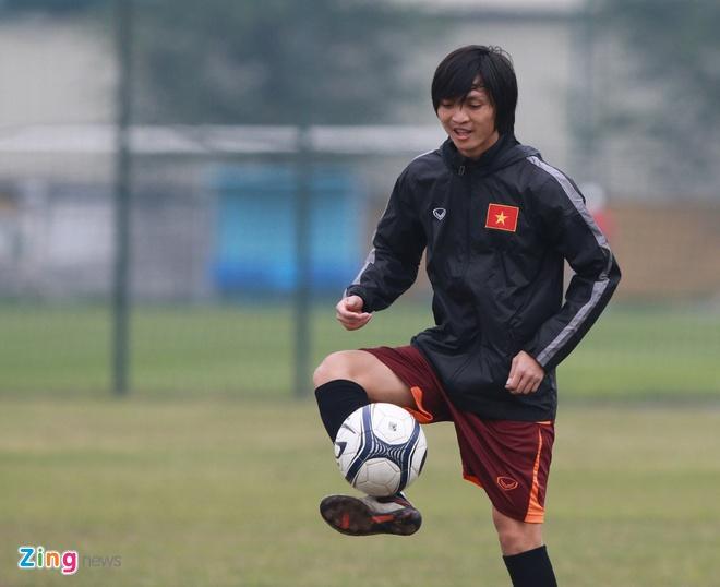 Tuan Anh ren ky thuat cung nhom cau thu chan thuong U23 VN hinh anh 4