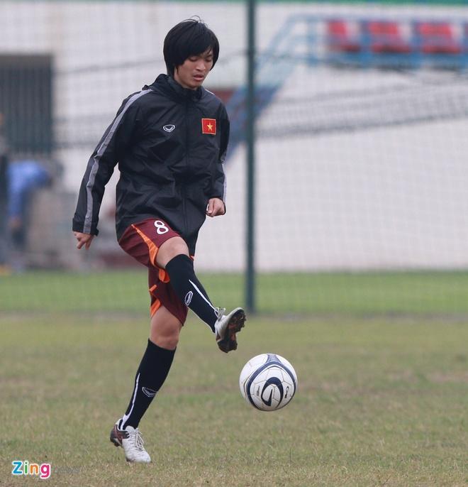 Tuan Anh ren ky thuat cung nhom cau thu chan thuong U23 VN hinh anh 5